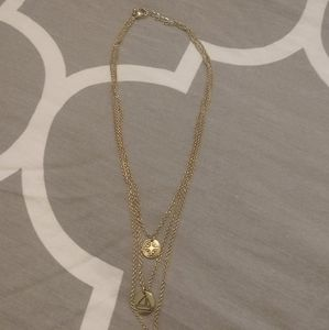 Nautical Inspired Layered Necklace